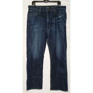 Men's Lucky Brand Jeans 181 relaxed Straight 36x30